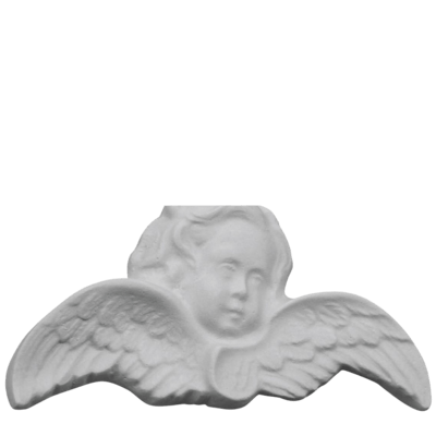 Winged Angel Marble Statue