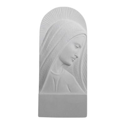 Shining Madonna Marble Statue