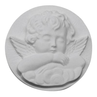 Resting Angel Marble Statue