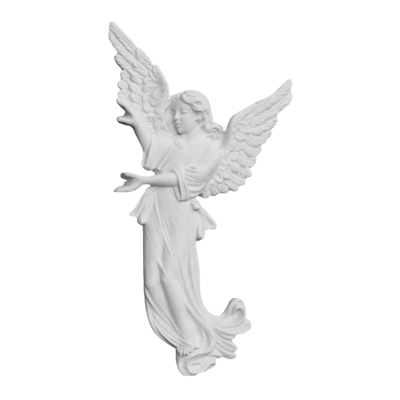 Offering Angel Marble Statue
