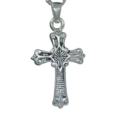 Roman Cross Keepsake Jewelry III