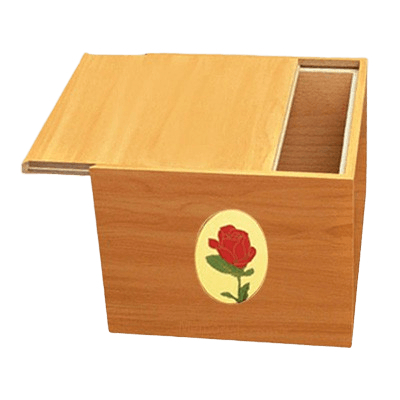 Norwegian Rose Cremation Urn