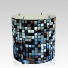 Round Mosaic Ceramic Urn