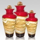 Celestial Ruby Cremation Urns