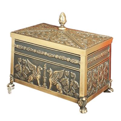 Sarcophagus Bronze Cremation Urn