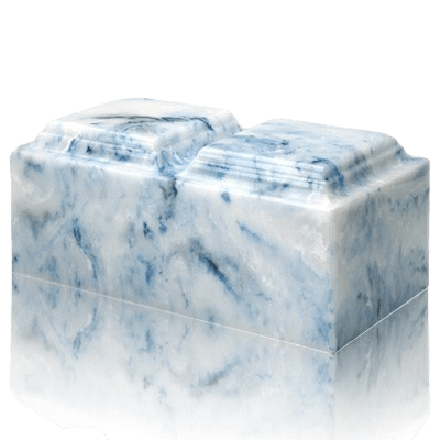 Sapphire Onyx Companion Urn