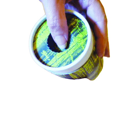 Burgundy Scattering Biodegradable Urn