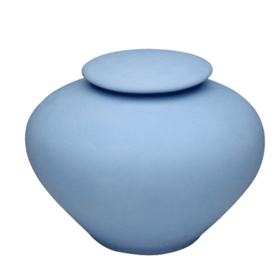 Blue Sea Large Porcelain Clay Urn