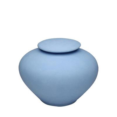 Blue Sea Medium Porcelain Clay Urn