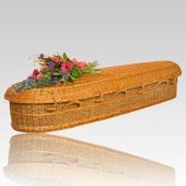 Seagrass Large Green Burial Caskets
