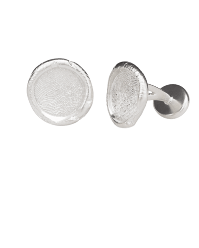 Cufflinks Print Sterling Silver Keepsakes