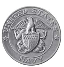 Navy Silver Medallion Appliques