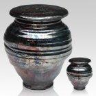 Raku Night Ceramic Cremation Urns