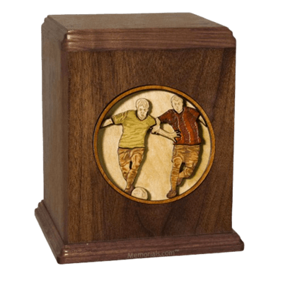 Soccer Cremation Urn