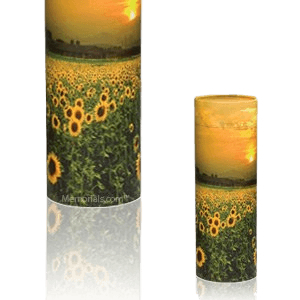 Sunflower Scattering Mini Biodegradable Urn