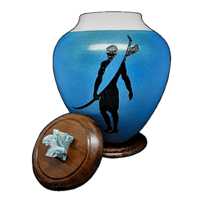 Wave Surfer Cremation Urn