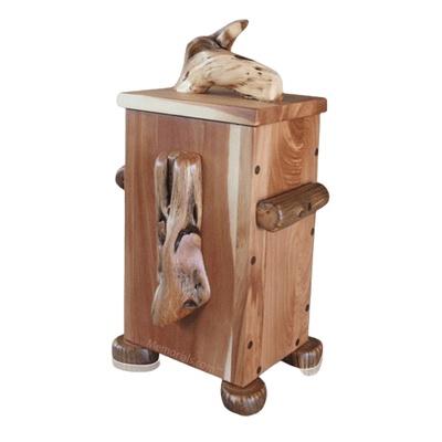 Juniper Natural Wood Urn