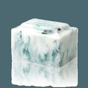 Teal Onyx Medium Urn