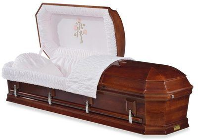 Tearose Wood Casket