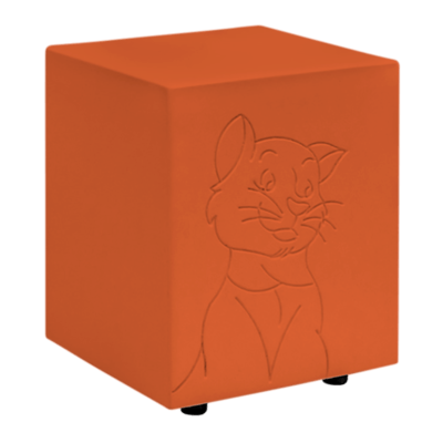 Romeo Orange Cat Urn
