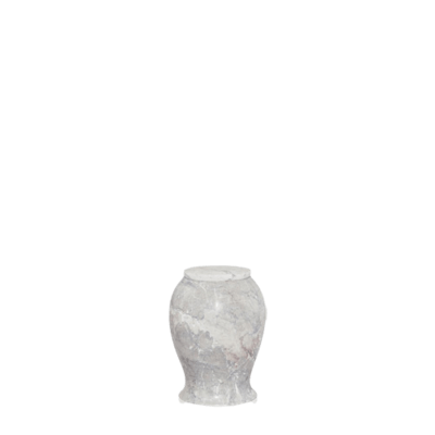 Tiki Small Marble Cremation Urn