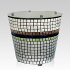 Tower Mosaic Ceramic Urn
