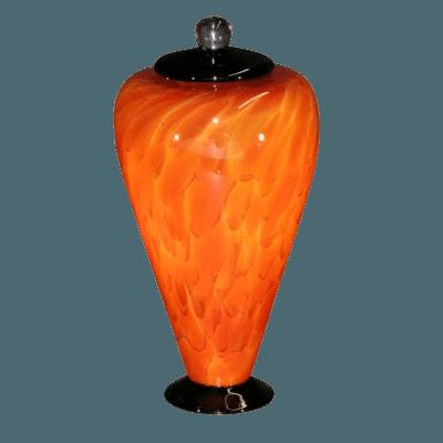 Unique Lava Art Urn