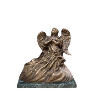 Upward Angel Keepsake Cremation Urn