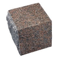 Natural Rose Granite Cremation Urn