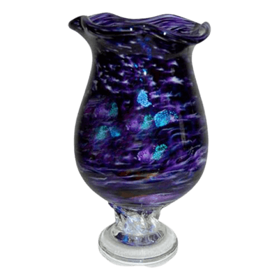 Purple Diochroic Companion Cremation Urn