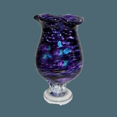 Purple Diochroic Cremation Urn