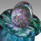 Pinkaloros Glass Cremation Urn