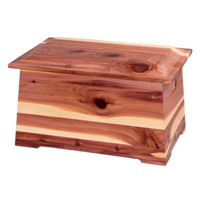 Prestige Cedar Cremation Urn