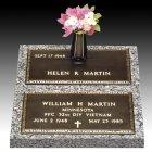 Veteran Companion Bronze Grave Marker II