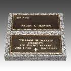 Veteran Companion Bronze Grave Marker