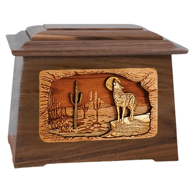 Desert Moon Walnut Aristocrat Cremation Urn