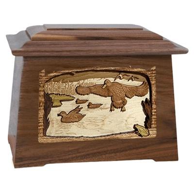 Marshland Melody Walnut Aristocrat Cremation Urn