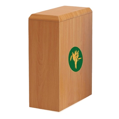 British Wheat Cremation Urn