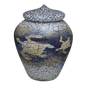 Turtle Art Cremation Urn