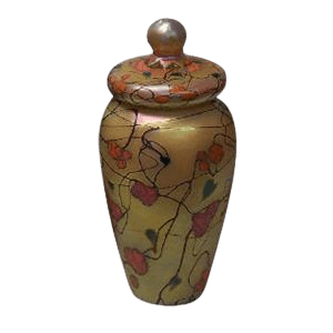 Modern Gold Art Cremation Urn