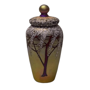 Golden Cherry Cremation Urn
