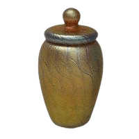 Pure Gold Art Cremation Urn
