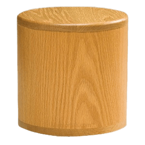 Barillet Oak Cremation Urn