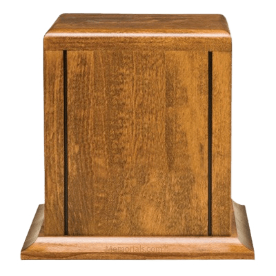 Montgomery Wood Cremation Urn