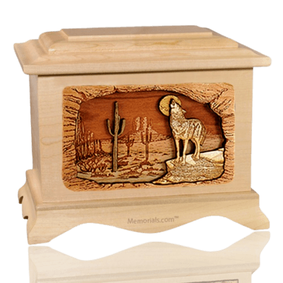 Desert Moon Maple Cremation Urn