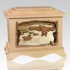 Marshland Melody Maple Cremation Urn