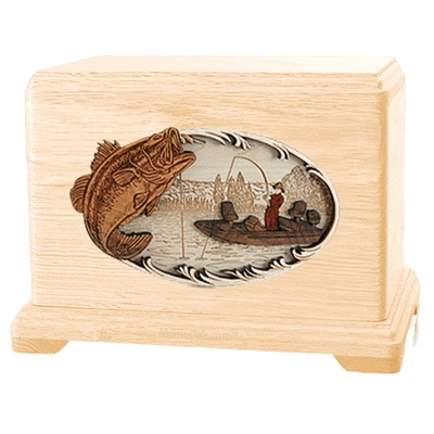 Catch of the Day Maple Hampton Cremation Urn