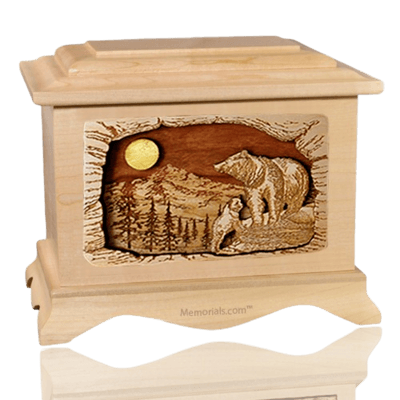 Country Haven Maple Cremation Urn