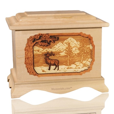 Elk Maple Cremation Urn