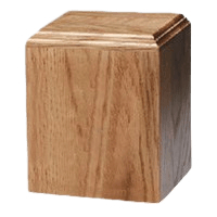 Contempo Wood Cremation Urn III